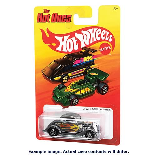 Hot Wheels The Hot Ones Wave 6 Case
