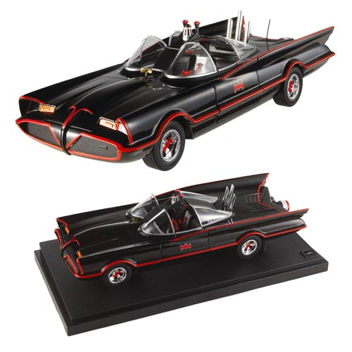 Batman 1966 Barris Batmobile Foundation 1:18 Scale Vehicle