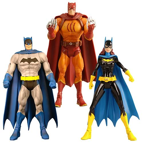 Batman Legacy Action Figures Wave 2 Set