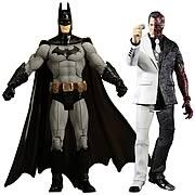 Batman Legacy Arkham City Batman and Two Face Figures