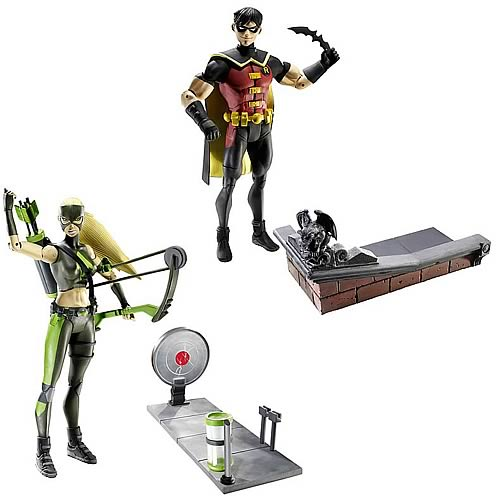 DC Universe Young Justice Wave 1 Action Figure Set