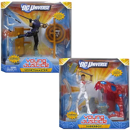 DC Universe Young Justice 2012 Wave 1 Figure Set