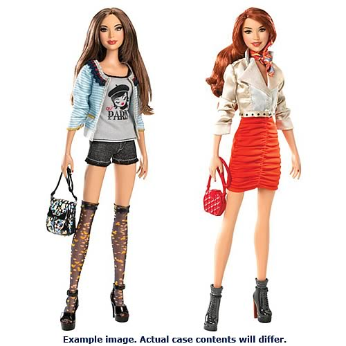 Barbie Stardoll Bisou Doll Assortment Case
