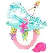 Barbie Mermaid Tale 2 Surf To Sea Bath Playset