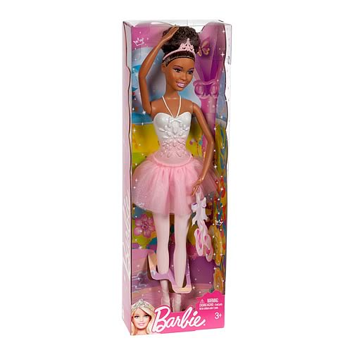 Barbie Princess African American Ballerina Doll