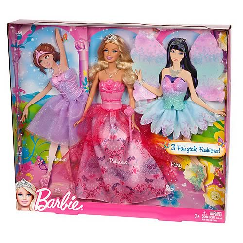 Barbie Fantasy Dress Up Doll