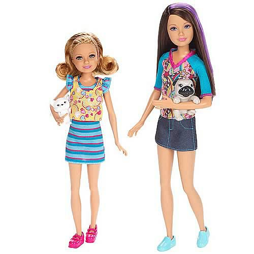 Barbie Sisters Dolls Set