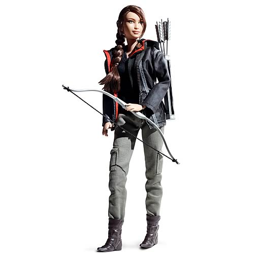 Hunger Games Katniss Everdeen Barbie Doll