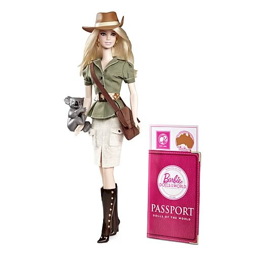 Barbie Dolls of the World Australia Doll