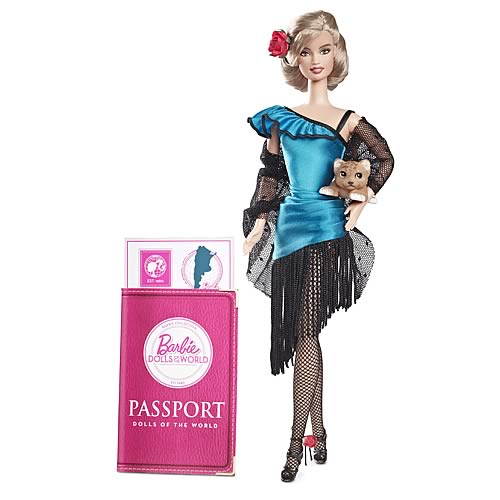 Barbie Dolls of the World Argentina Doll
