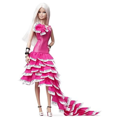 Barbie Pink in Pantone Doll