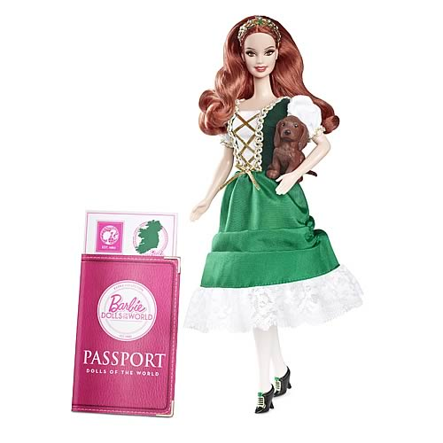 Barbie Dolls of the World Ireland Doll