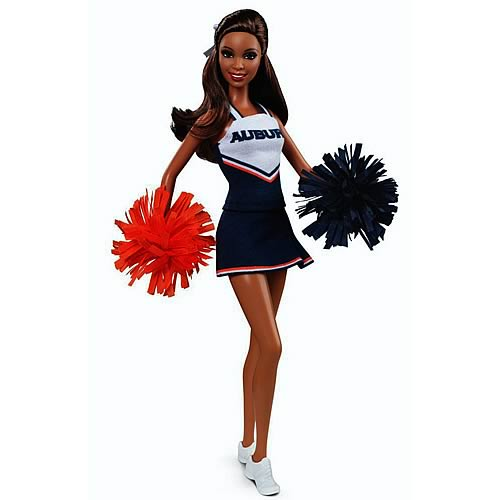 Barbie Auburn University African American Cheerleader Doll