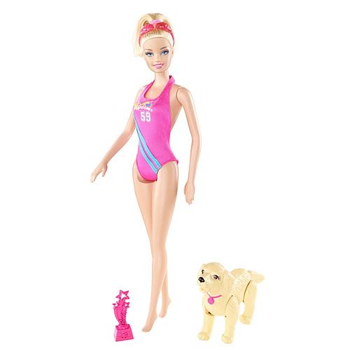 Barbie Swimmer Doll