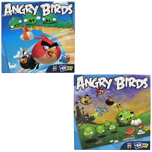 Angry Birds 24 Piece Puzzle Assortment Case