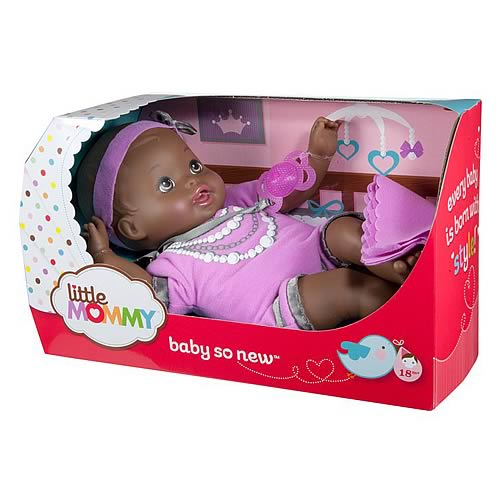 Little Mommy Baby So New African American Doll