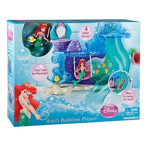 Disney Little Mermaid Ariel's Bathtime Playset