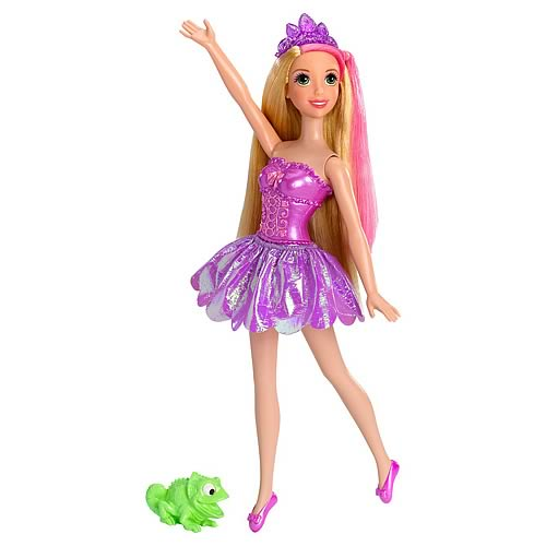Disney Tangled Bath Magic Rapunzel Doll