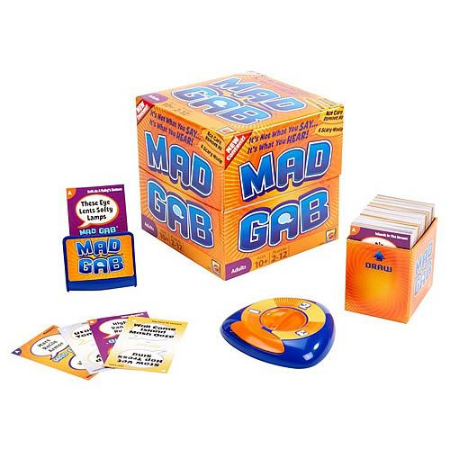 Mad Gab Refresh Card Game