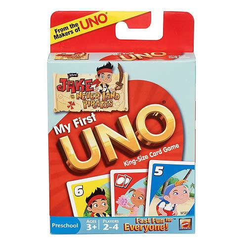 My First UNO Jake and Never Land Pirates Edition Card Game