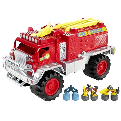 Matchbox Big Boots Fire Truck Vehicle