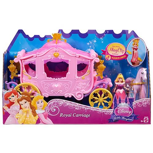 Disney Princess Royal Carriage Doll and Vehicle
