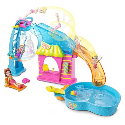 Polly Pocket Flip and Swim Playset