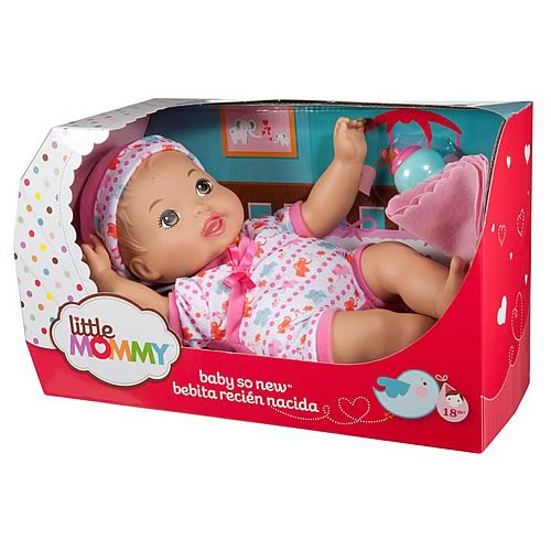 Little Mommy Hispanic Baby So New Elephant Doll