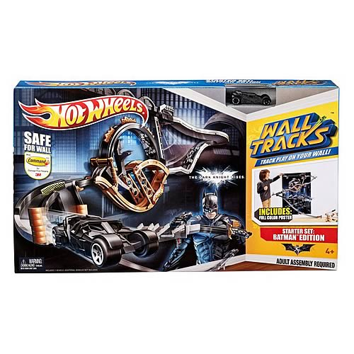 Batman Dark Knight Rises Hot Wheels Wall Tracks Playset