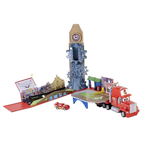 Cars Mack Play World Vehicle Playset