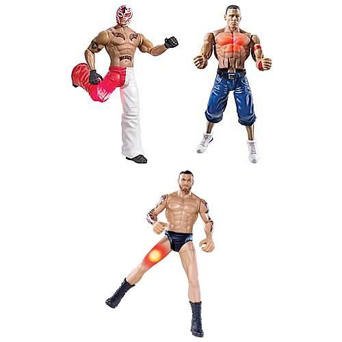 WWE FlexForce Lightning Action Figure Case