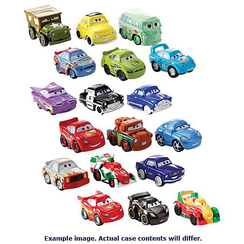 Cars 2 Drifters Wave 2 Vehicle 3-Pack Case
