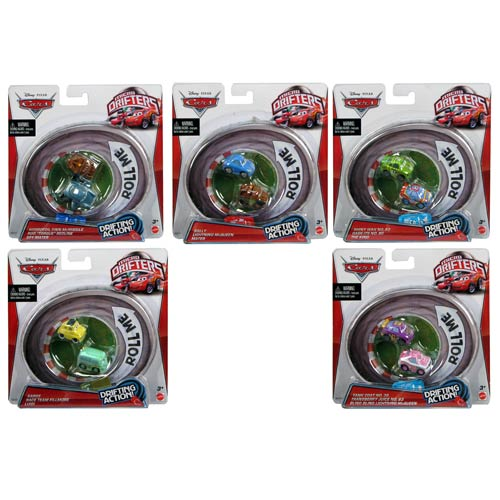 Cars 2 Drifters Wave 3 Vehicle 3-Pack Case