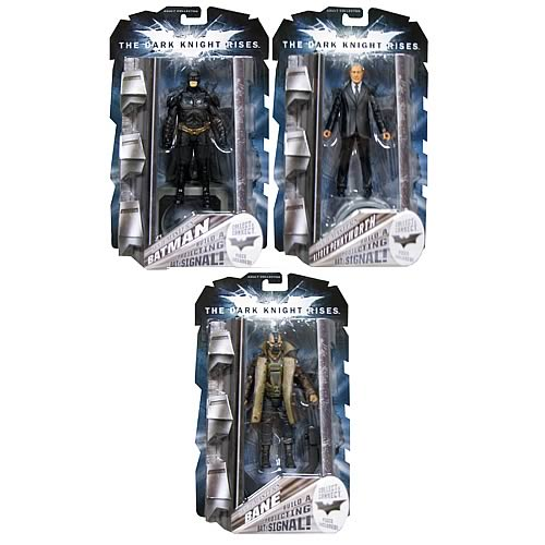Batman Dark Knight Rises Movie Masters Figure Wave 1 Case