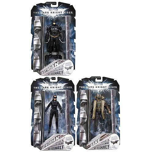 Batman Dark Knight Rises Movie Masters Figures Wv. 2 R1 Case
