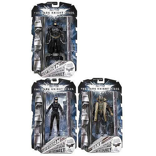 Batman Dark Knight Rises Movie Masters Figures Wv. 3 R1 Case