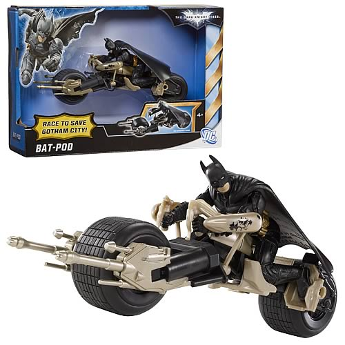 Batman Dark Knight Rises Bat-Pod Vehicle Case