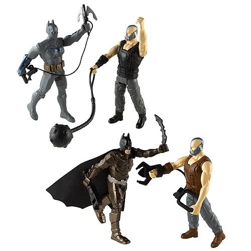 Batman Dark Knight Rises Figure 2-Packs Case