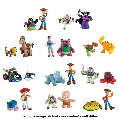 Toy Story Color Splash Buddies Figure 2-Pack Case