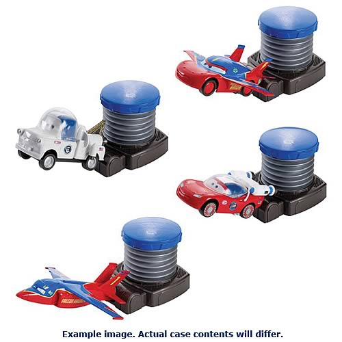 Cars Bash and Go Vehicle and Launcher Case
