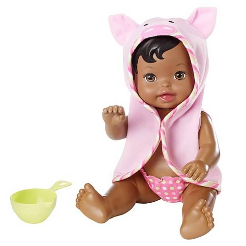 Little Mommy Scrub a Dub Bathtime African American Doll