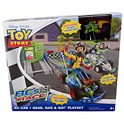 Toy Story RC Race Gear, Gas and Go Playset