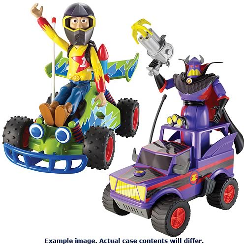 Toy Story RC Racer Deluxe 6-Inch Figure Case - Mattel ...
