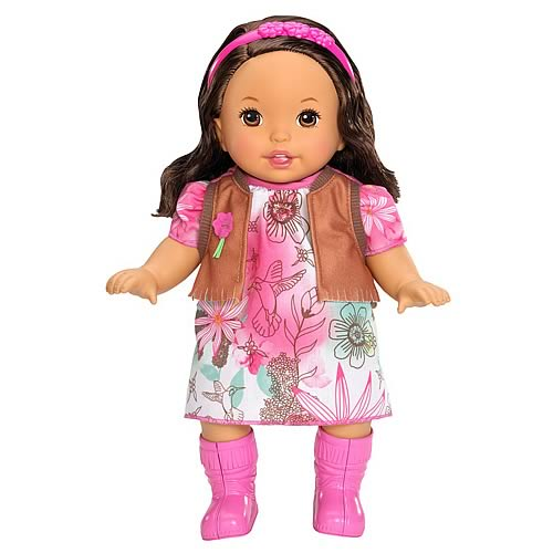 Little Mommy Sweet as Me Boho Hispanic Doll