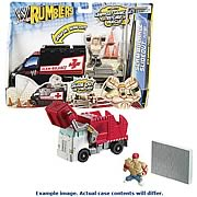 WWE Rumblers Figure and Vehicle Playset Case