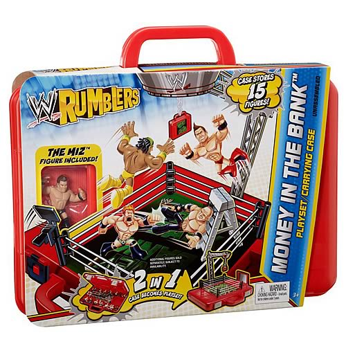 WWE Rumblers Money in the Bank Playset Carrying Case
