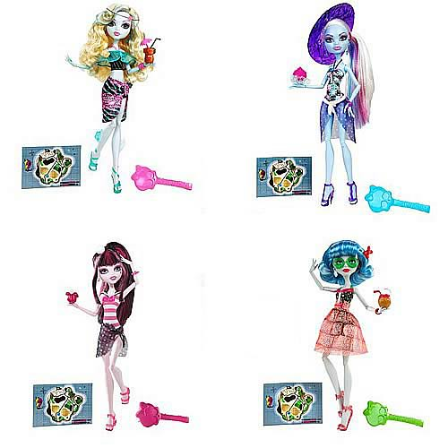 Monster High Doll Skull Shores Wave 1 Case