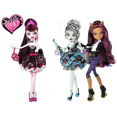 Monster High Sweet 1600 Doll Case