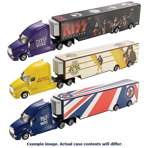 Hot Wheels Rock Band Tour Haulers Assortment Case