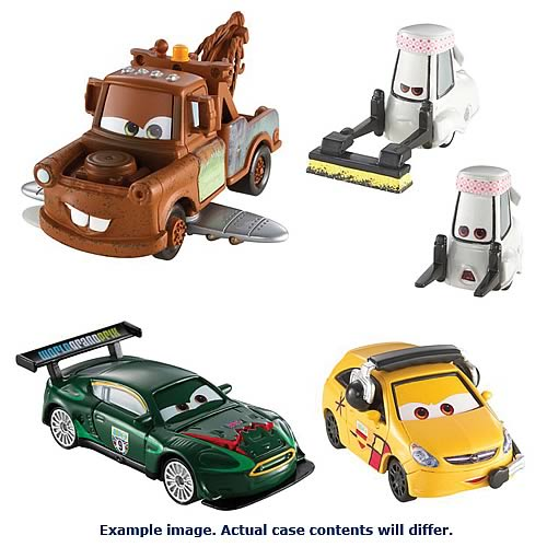 Cars 2 Quick Changers Vehicle Case